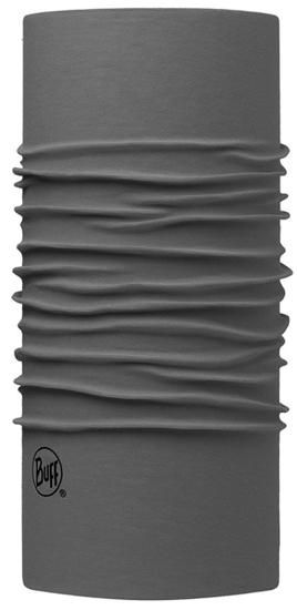 BUFF bandana 117818.929.10 ORIGINAL EKOSTRETCH SOLID CASTLEROCK GREY