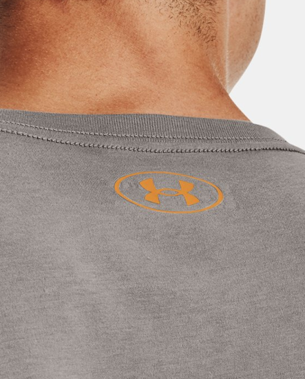 Picture of UNDER ARMOUR m majica 1329582-066 TEAM ISSUE WORDMARK