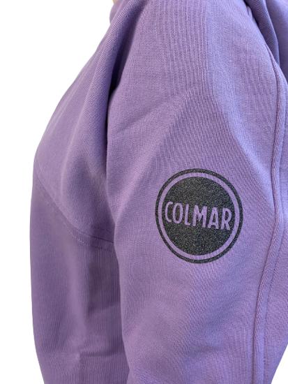 Picture of COLMAR ž kapucar 9091 6UX 532 HOODED SWEATSHIRT purple