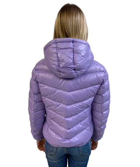 Picture of COLMAR ž bunda 2247R 5TW 532 GLOSSY DOWN JACKET WITH FIXED HOOD