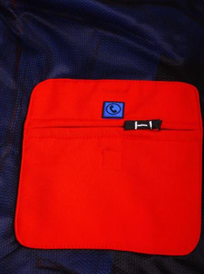 CANADIAN PEAK® m softshell TERLE red/royal blue