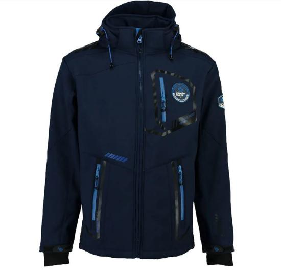 CANADIAN PEAK® m softshell TERLE navy/royal blue